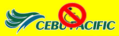 Cebu Pacific Logo with Discrimination of Disability