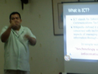 Sir Ervin lectures in PSD seminar.