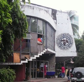 Facade of Philippine Association of the Deaf School in Makati City