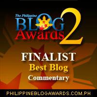 Finalist Commentary Philippine Blog Awards 2008