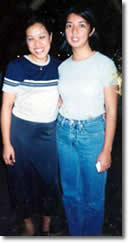 Emilie with Presidential Daughter Luli Arroyo