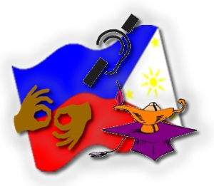Philippine deaf education symbol