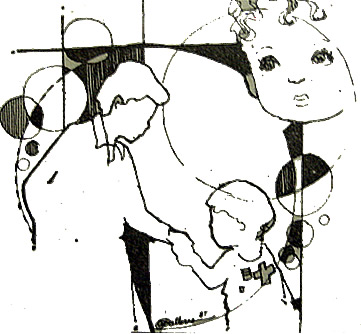 Jesus Child - Drawn by Perfecto Balleras