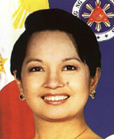 President Arroyo (Notice her left mole?)