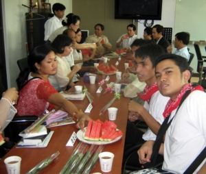 Watermelon Courtesy Call