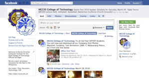 MCCID Facebook Screenshot