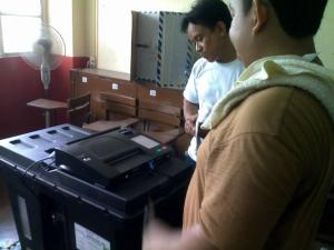 Sir Ervin and the Precinct Count Optical Scanner Machine