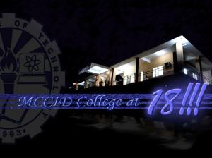 MCCID College at 18 Wallpaper