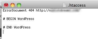 WordPress .htaccess hack codes