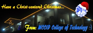 Have a Christ Centered Christmas from MCCID College