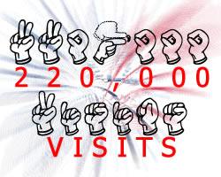 220,000 visits