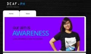 deafdotph website cover