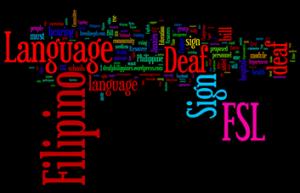 FSL Wordie Collage of Words