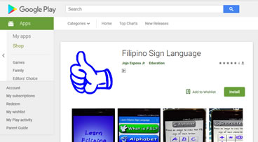 filipino google search