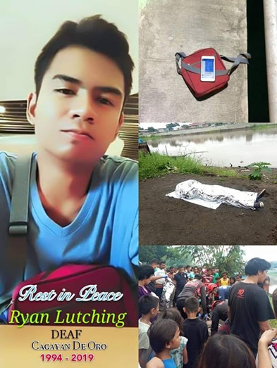 Ryan Lutching - Image posted by Angel Laput Ondac of LSU Ozamiz Deaf