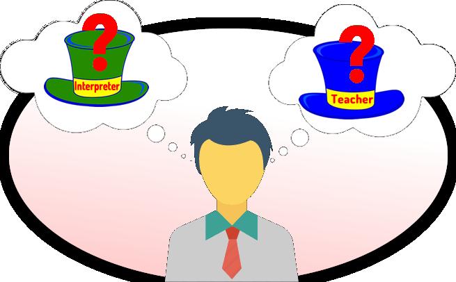 interpreter or teacher