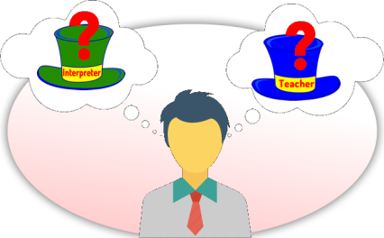 interpreter or teacher