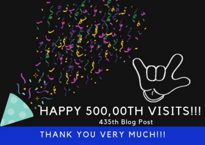 Happy 500,00th visits