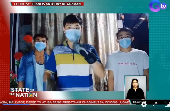 Screenshot of GMA FB News